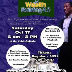 Weath Seminar- publish own book-